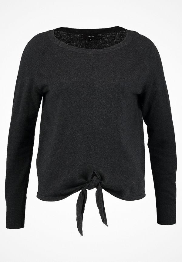 Opus PAOLA  Stickad tröja slate grey melange