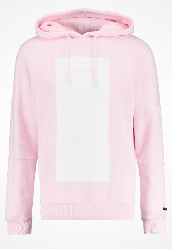 Cayler & Sons GARFIELD TRES SLICK Luvtröja pale pink/white