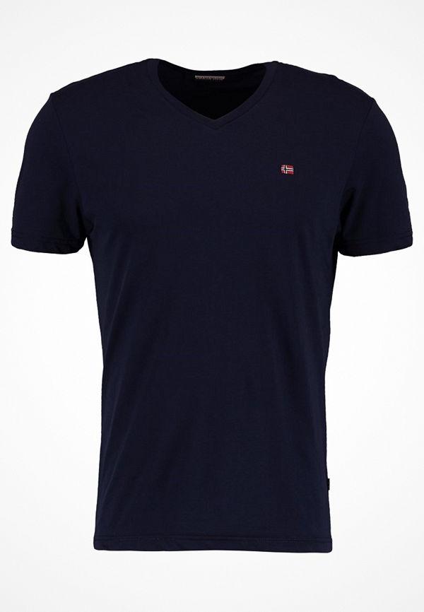 Napapijri SENOS V Tshirt bas blu marine