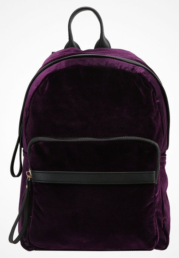 New Look Ryggsäck bright purple omönstrad