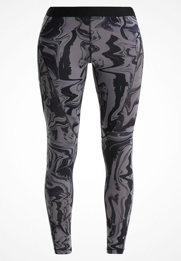 Nike Performance MARBLE Tights gunsmoke/black