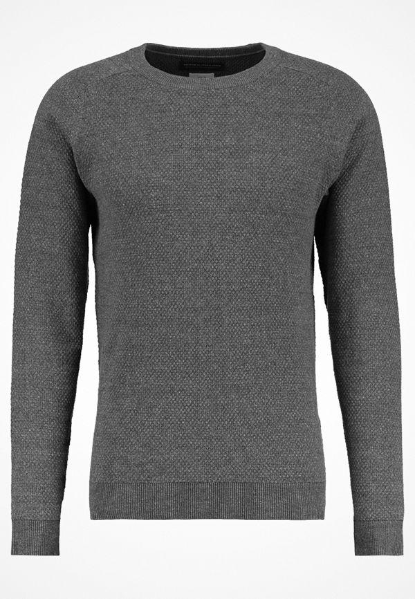 Jack & Jones JPRCRUISE CREW NECK Stickad tröja dark grey