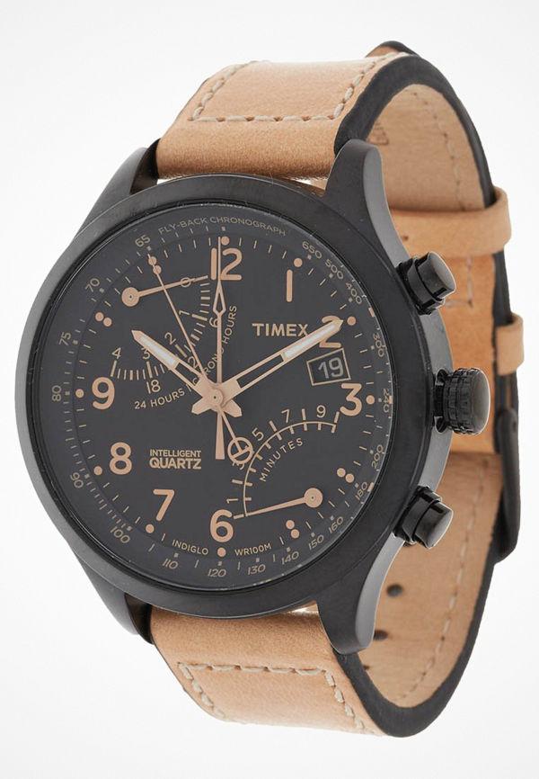 Timex IQ Klocka hellbraun