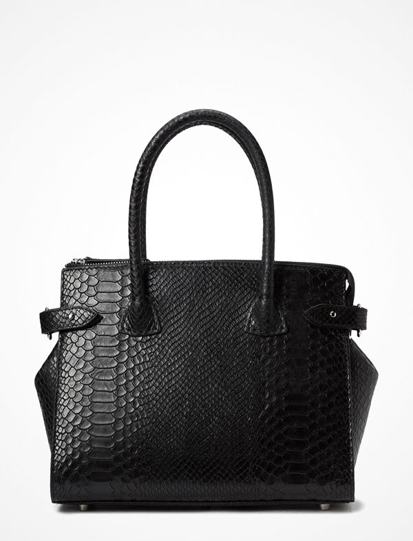 Decadent svart axelväska X-Small Shopper