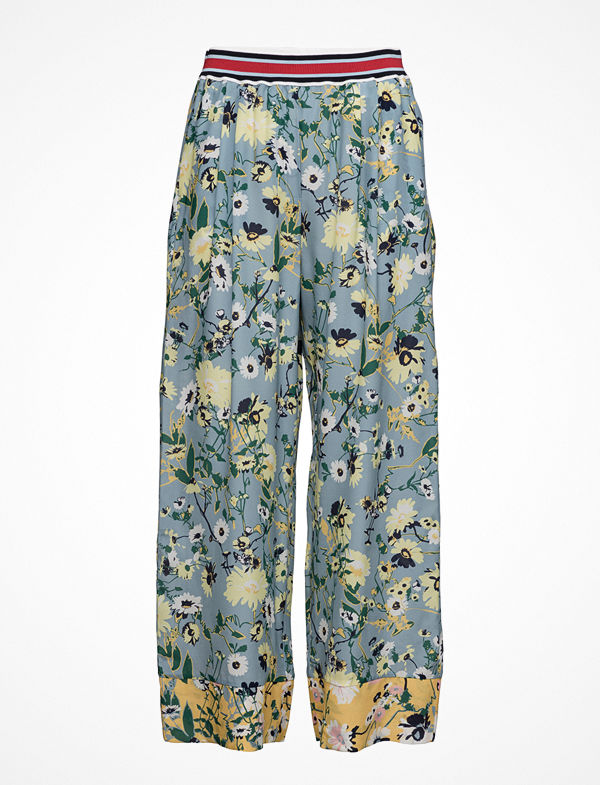Hilfiger Collection mönstrade byxor Patchwork Floral Pants