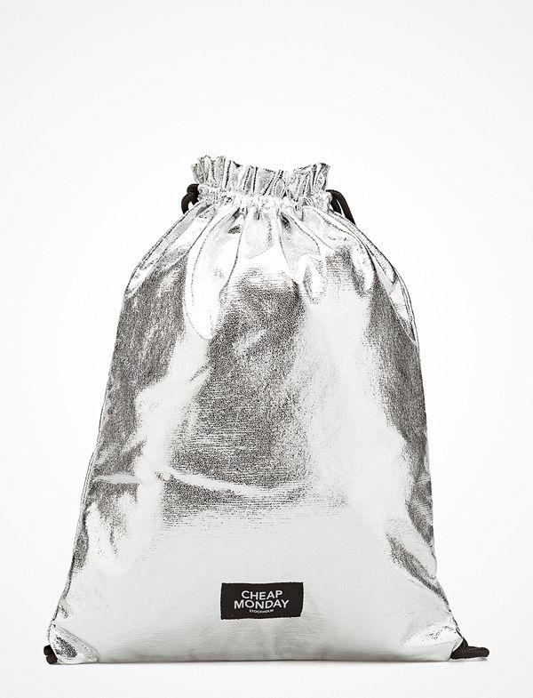 Cheap Monday ljusgrå ryggsäck Still Pack