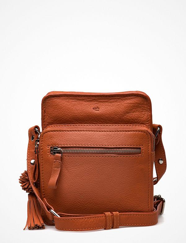 Adax brun axelväska Ruby Shoulder Bag Hilde