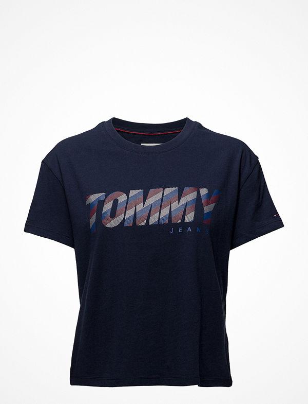 Tommy Jeans Tjw Stripy Logo Tee,