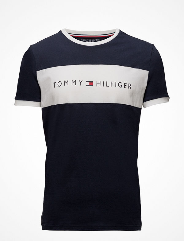 Tommy Hilfiger Cn Tee Ss Logo Flag,