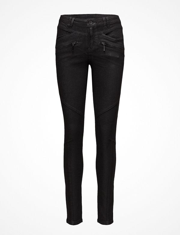 Cream Eva Jeans- Shape Fit
