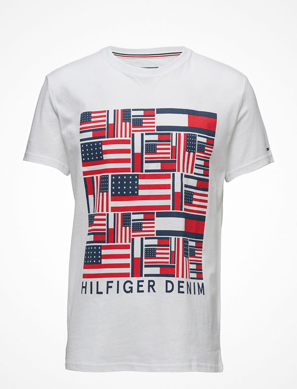 Tommy Jeans Thdm Iconic Flag T-Shirt S/S 22