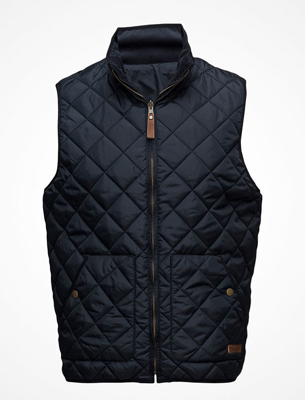 Knowledge Cotton Apparel Reversible Vest - Grs
