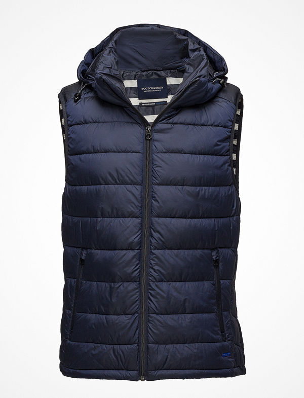 Scotch & Soda Ams Blauw Simple Body Warmer
