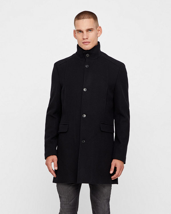 Selected Mosto wool kappa - Rockar online - Modegallerian 2e1c230ea7344