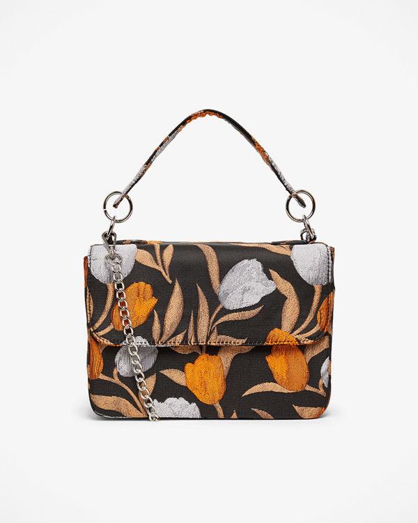 hvisk Dallly Flower handväska 17x24x10