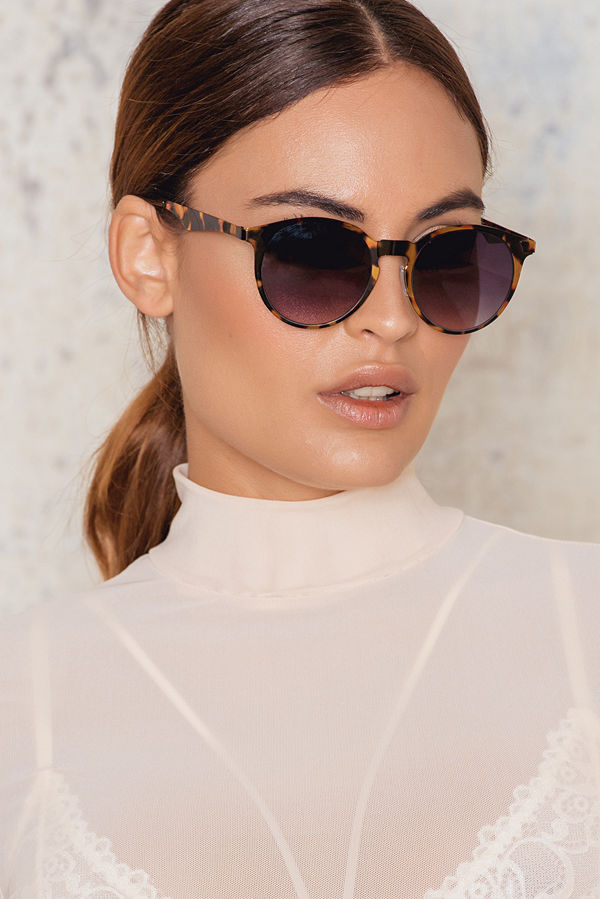 NA-KD Accessories Round Shaped Sunglasses