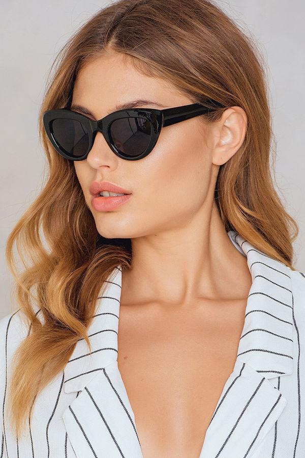 NA-KD Accessories Cat Eye Sunglasses svart