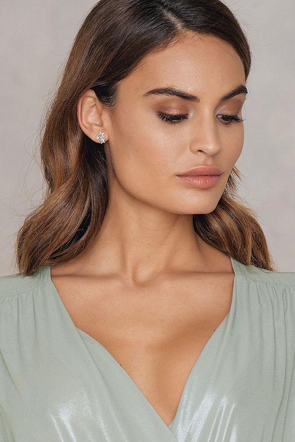 Andrea Hedenstedt x NA-KD Star Stud Earring - Smycken