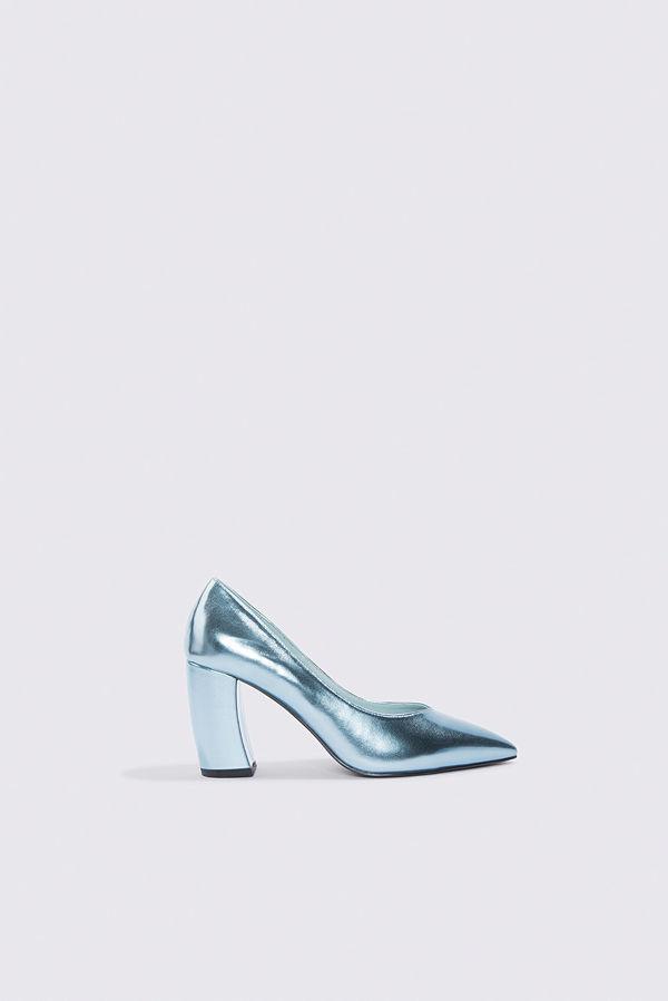 NA-KD Shoes Rounded Heel Pumps blå