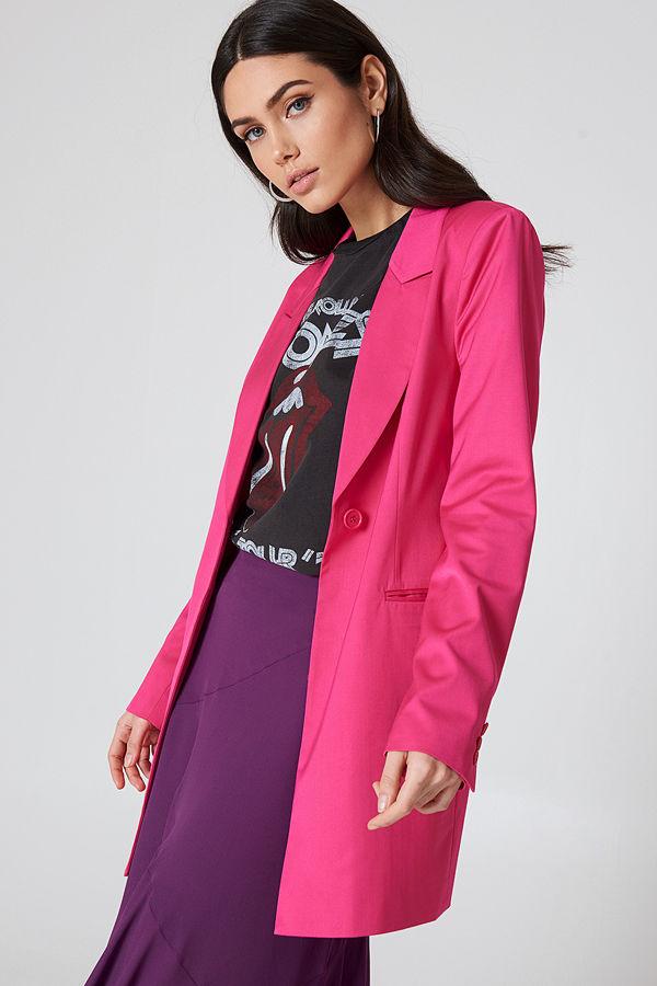 NA-KD Trend Long Blazer