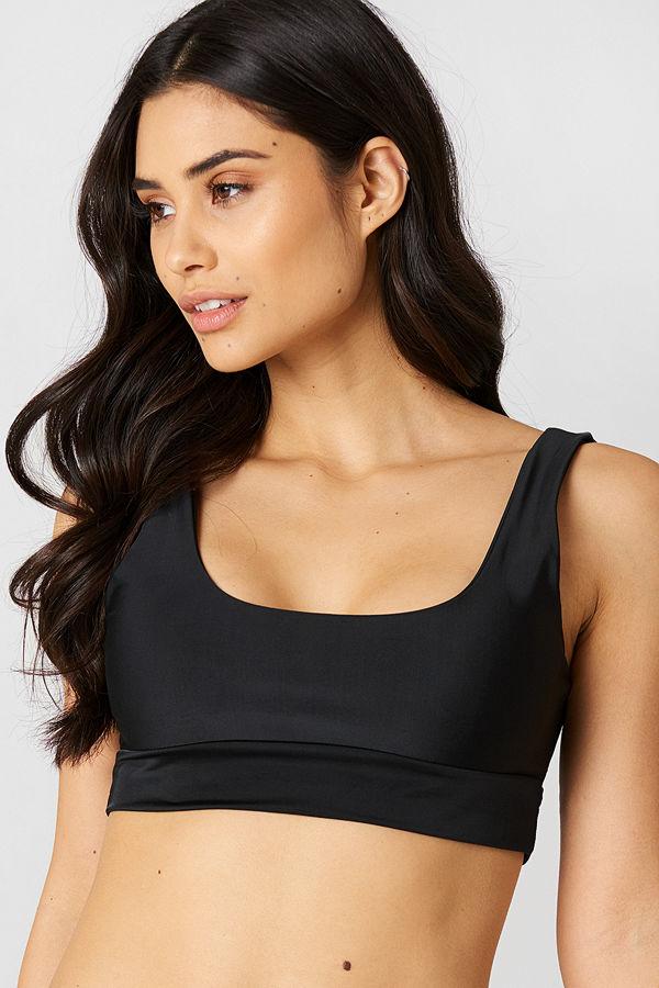 Hot Anatomy Bandeau Bikini Top
