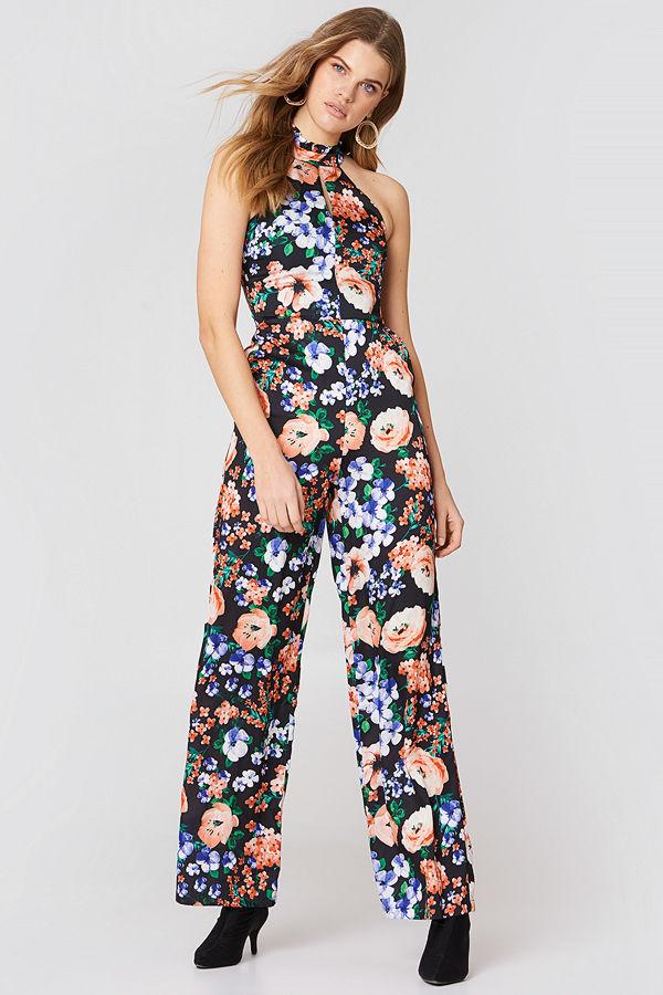 Trendyol Floral Jumpsuit