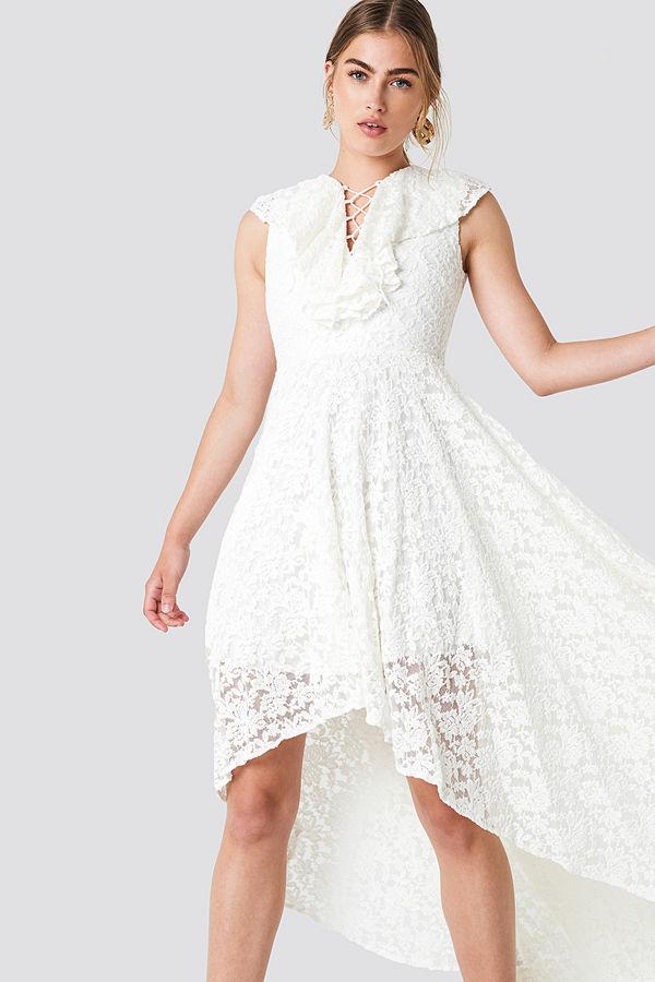 Trendyol Lace Maxi Dress - Festklänningar
