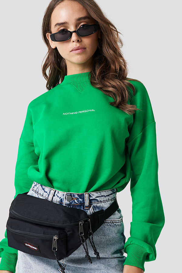 NA-KD Nothing Personal Sweater grön