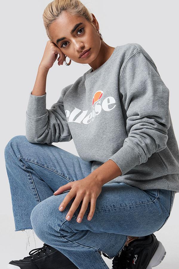 Ellesse El Agata Sweatshirt grå