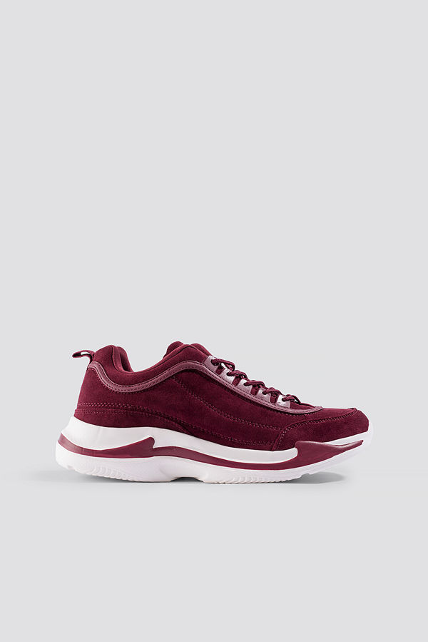 NA-KD Shoes Faux Suede Chunky Trainers