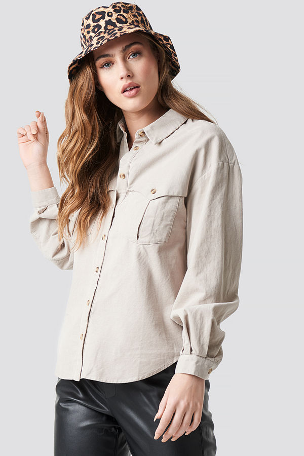 Mango Cow Shirt - Skjortor