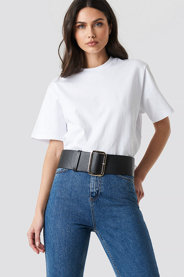 Trendyol Wide PU Belt - Bälten och skärp