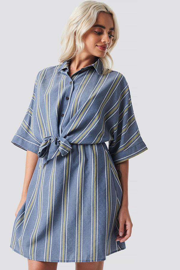 Mango Rafiki Dress blå