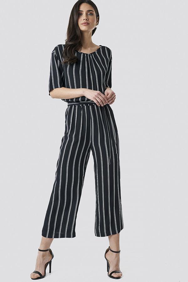 Sparkz Tula Stripe Jumpsuit svart