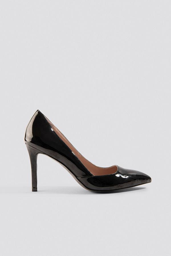 NA-KD Shoes Classy Pointy Pumps svart
