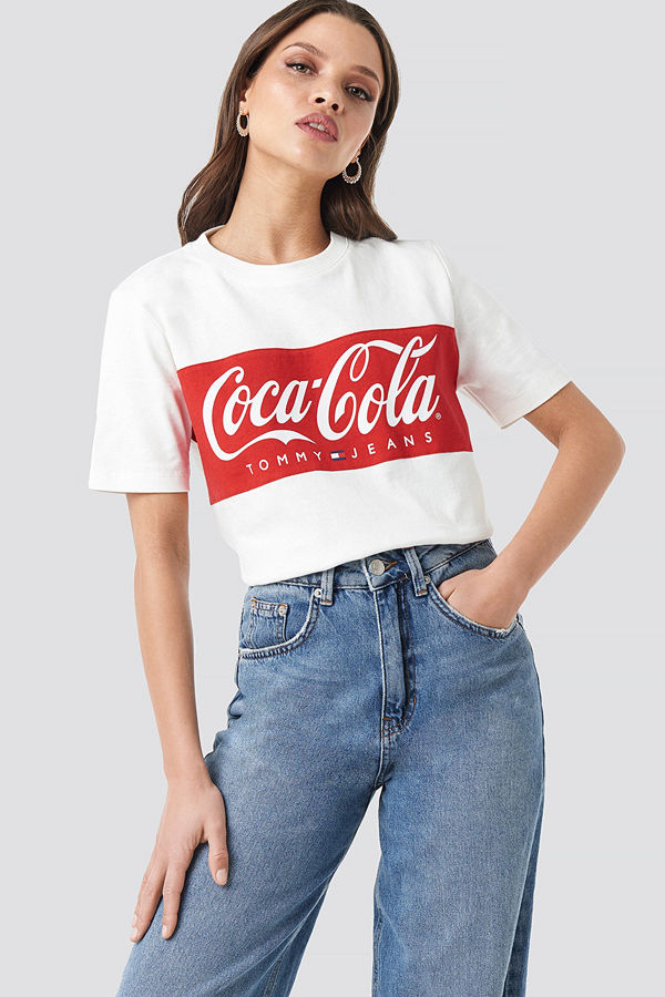 Tommy Jeans Tommy x Coca Cola Tee vit