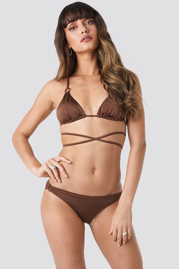 Trendyol Ess Bikini Bottom brun