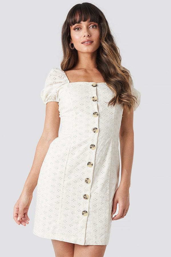 Trendyol Milla Mini Dress vit