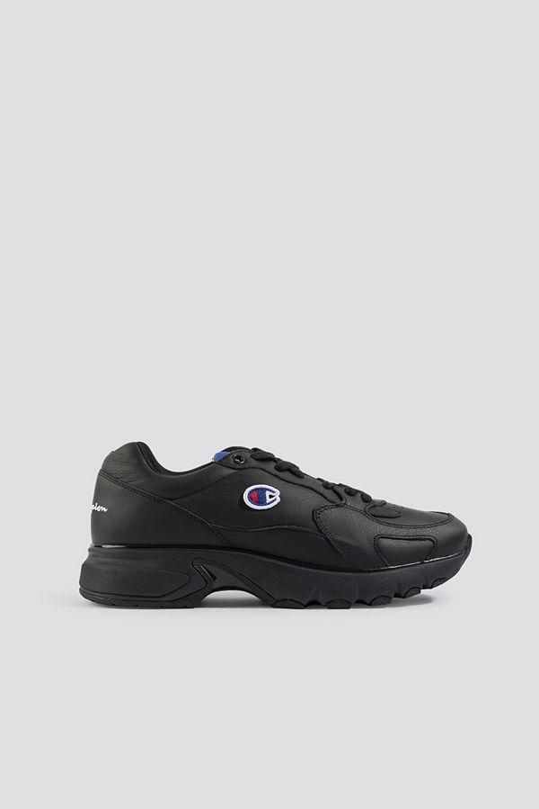 Champion Cwa Low Cut Leather Sneaker svart