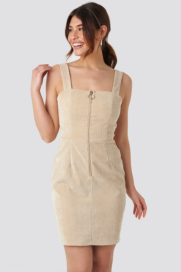 Sisters Point Genz Dress beige
