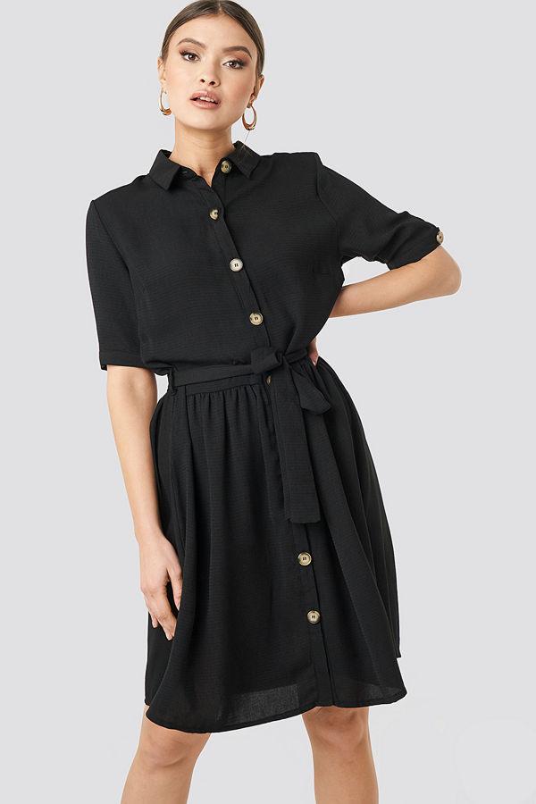 Sisters Point Nutti Dress svart