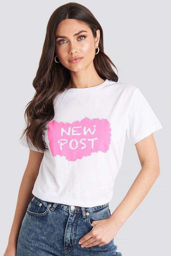 Trendyol New Post Tee vit