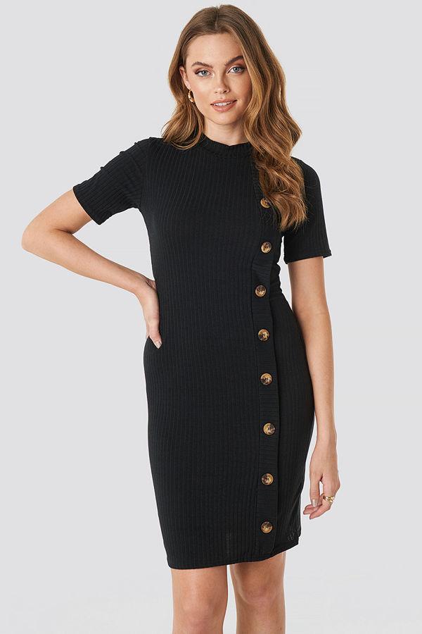 Sisters Point Luna Dress svart