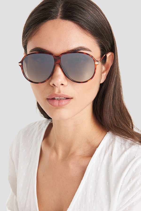 Mango Molly Sunglasses brun