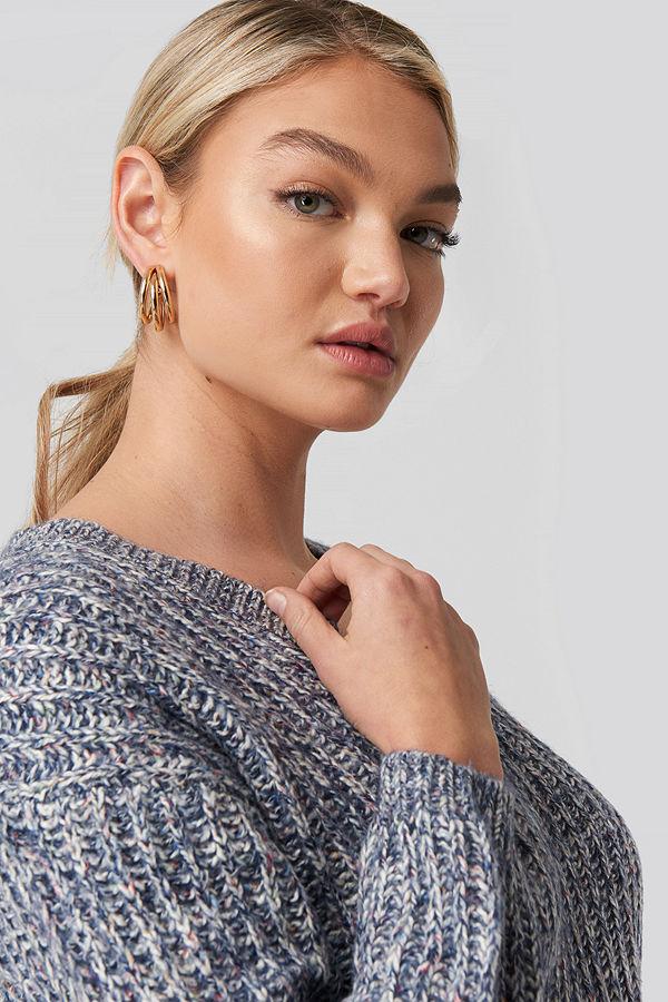 Mango smycke Cosima Earrings guld