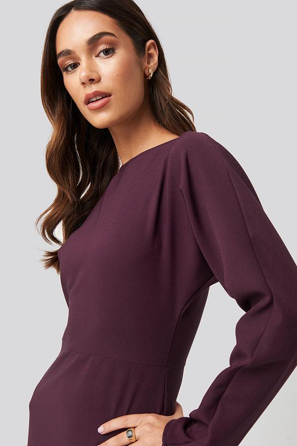 Trendyol Mini Basic Dress lila