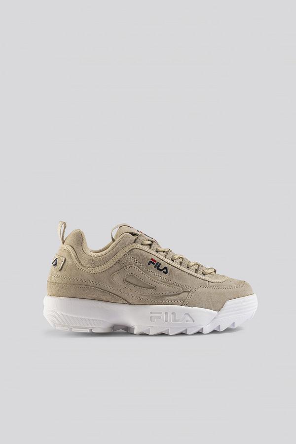 Fila Disruptor S Low Wmn Sneaker beige