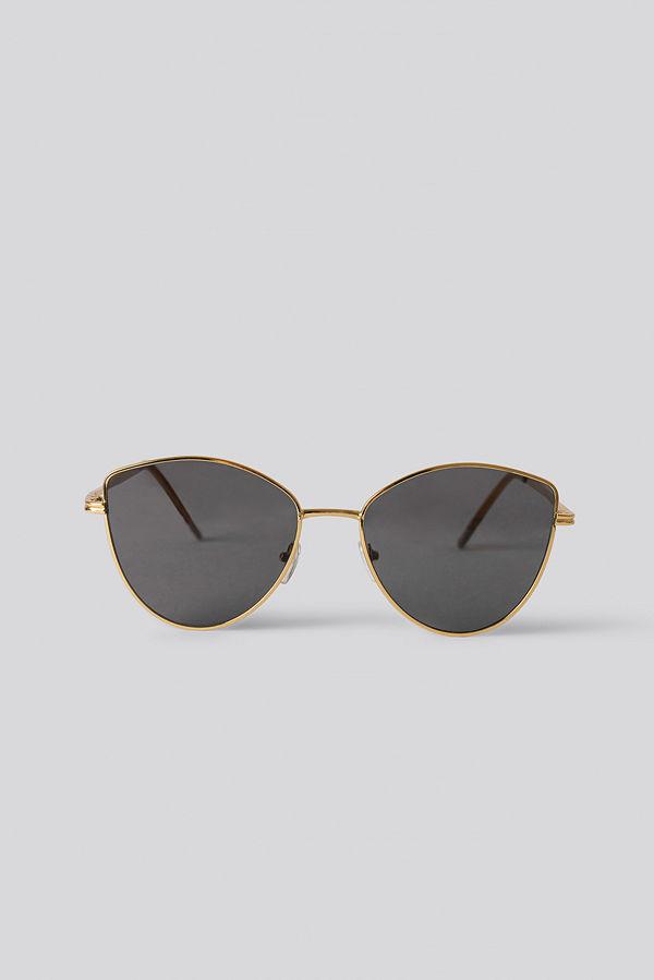 NA-KD Accessories Solglasögon guld