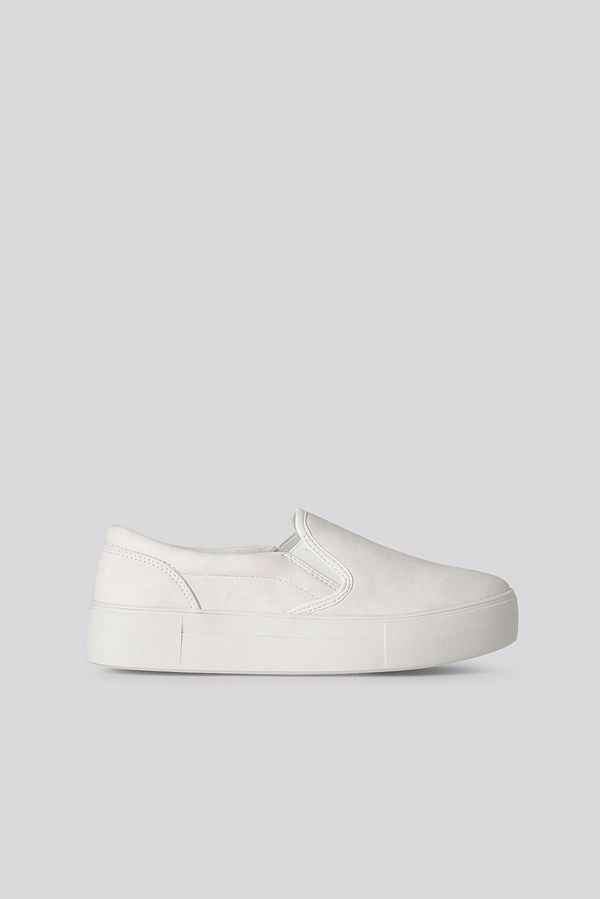 NA-KD Shoes Basic Slip In Trainers vit