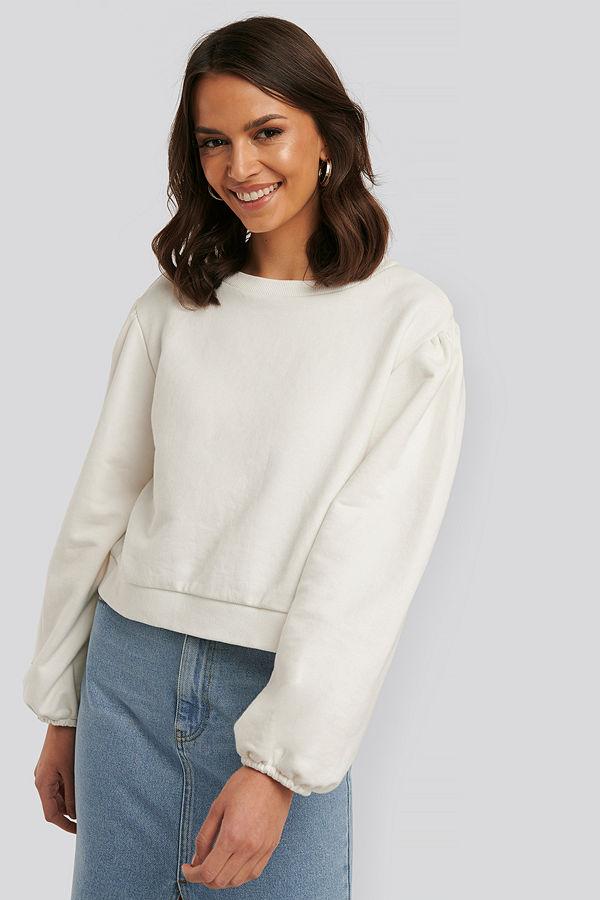 Defacto Sweatshirt vit